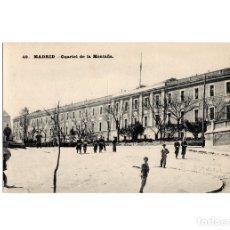 Postales: MADRID.- CUARTEL DE LA MONTAÑA.. Lote 182783135