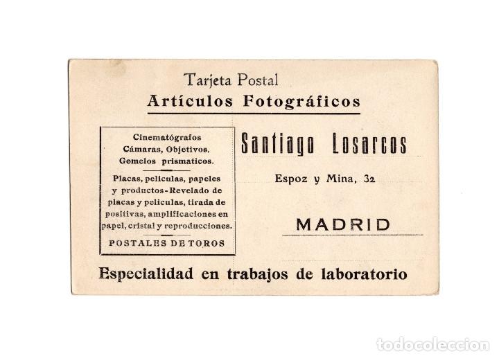 Postales: MADRID.- FUSILAMIENTOS DE MONCLOA. 3 DE MAYO DE 1808. PUBLICIDAD SANTIAGO LOSARCO. - Foto 2 - 182789998