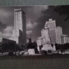 Postales: POSTAL MADRID. PLAZA DE ESPAÑA. Lote 182796346
