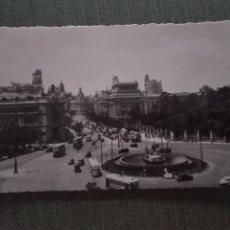 Postales: POSTAL MADRID. LA CIBLES Y LA CALLE DE ALCALA. Lote 182796390