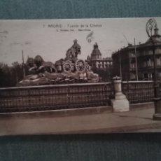 Postales: POSTAL MADRID. FUENTE DE LA CIBELES. Lote 182796608