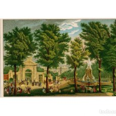 Postales: MADRID.- PUERTA DE SAN VICENTE Y VISTA PARCIAL DEL REAL PALACIO.. Lote 182796768