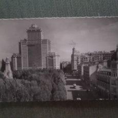 Postales: POSTAL MADRID. PLAZA DE ESPAÑA. Lote 182796802