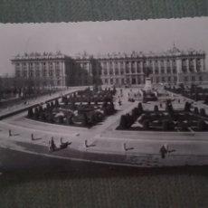 Postales: POSTAL MADRID. PLAZA DE ORIENTE. PALACIO NACIONAL. Lote 182796956