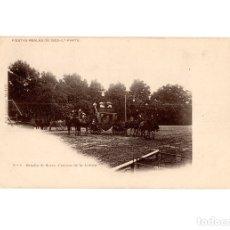 Postales: MADRID.- FIESTAS REALES DE 1902. 3ªPARTE - Nº5, BATALLA DE FLORES. CARROZA DE LA ANFORA.. Lote 182797878