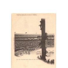 Postales: MADRID.- FIESTAS REALES DE 1902. 3ªPARTE- Nº10, CORRIDA REAL. PASEO DE LAS CUADRILLAS PLAZA DE TOROS. Lote 182798407