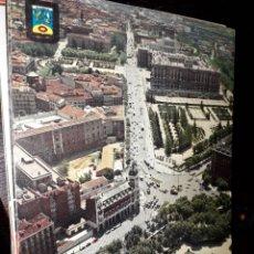 Postales: Nº 33066 POSTAL MADRID MONUMENTO A CERVANTES Y PALACIO REAL. Lote 182901955