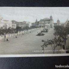 Postales: ALCALA DE HENARES MADRID PLAZA DE CERVANTES. Lote 182908460