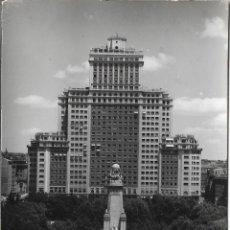 Postais: MADRID, PLAZA DE ESPAÑA - CIMER Nº 51 - ESCRITA 1961. Lote 182988071