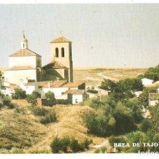 Postales: POSTAL AYTO. BREA DE TAJO - MADRID - IGLESIA DE LA ASUNCION. Lote 183183018