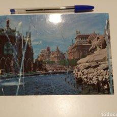 Postales: MADRID CIBELES POSTAL. Lote 183214146