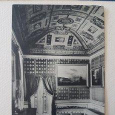 Postales: CASITA DEL PRINCIPE SALA ENCARNADA EL ESCORIAL MADRID. Lote 183481666