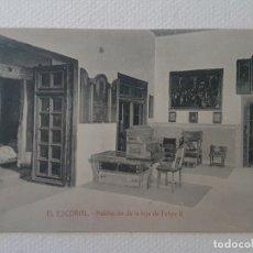 Postales: SALA DE LA INFANTA ISABEL MONASTERIO DE EL ESCORIAL MADRID. Lote 183481940