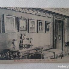 Postales: CASITA DEL PRINCIPE SALA DE LOS RETRATOS EL ESCORIAL MADRID. Lote 183482215