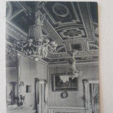 Postales: CASITA DEL PRINCIPE SALA AZUL EL ESCORIAL MADRID. Lote 183482277