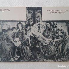 Postales: SALAS CAPITULARES DESCENDIMIENTO MONASTERIO DE EL ESCORIAL MADRID. Lote 183482435