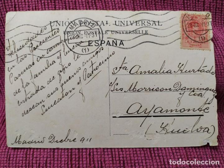Postales: Plaza Colón, Madrid. Union postal universal. - Foto 2 - 183530691