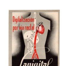 Postales: MADRID.- PUBLICIDAD.- LANIGITAL ROBERT. DIGITALIZACIÓN POR VIA RECTAL.. Lote 183546412