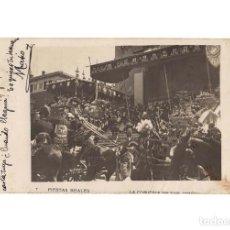 Postales: MADRID.- FIESTAS REALES. LA COMITIVA EN SAN JERÓNIMO. POSTAL FOTOGRÁFICA.. Lote 183554320