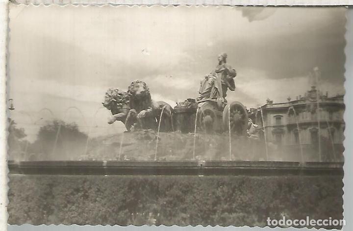 MADRID CIBELES ESCRITA (Postales - España - Comunidad de Madrid Antigua (hasta 1939))