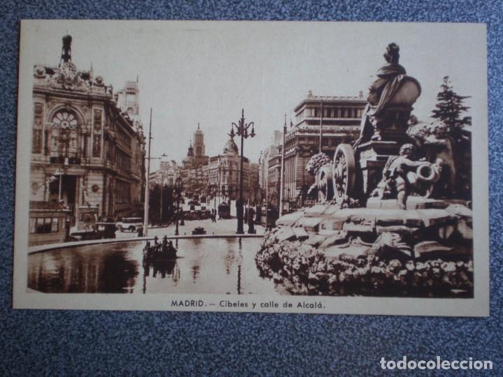 Postales: MADRID LOTE DE 11 POSTALES ANTIGUAS DIFERENTES - VER TODAS EN LAS IMÁGENES - Foto 4 - 183625338