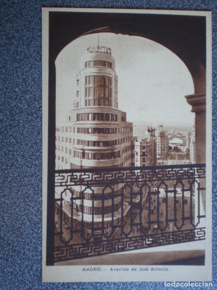 Postales: MADRID LOTE DE 11 POSTALES ANTIGUAS DIFERENTES - VER TODAS EN LAS IMÁGENES - Foto 5 - 183625338