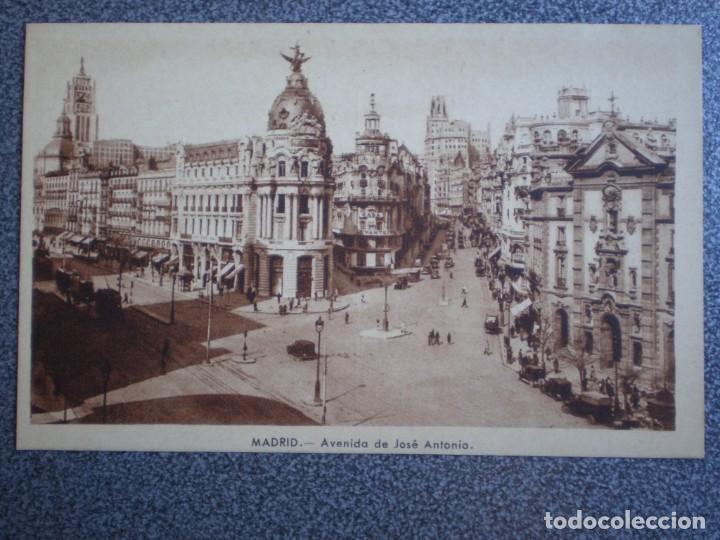 Postales: MADRID LOTE DE 11 POSTALES ANTIGUAS DIFERENTES - VER TODAS EN LAS IMÁGENES - Foto 6 - 183625338