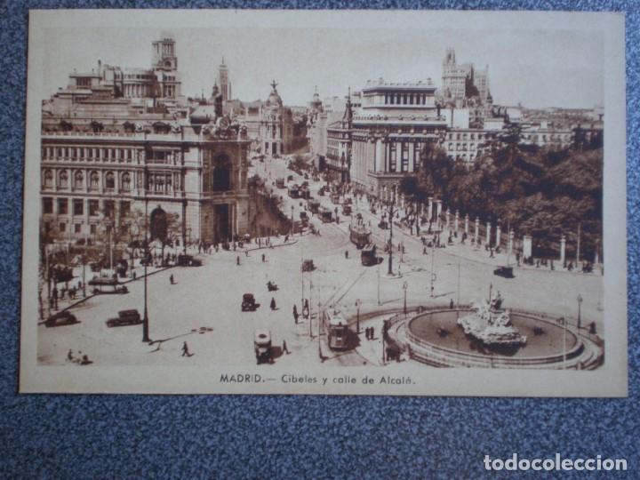 Postales: MADRID LOTE DE 11 POSTALES ANTIGUAS DIFERENTES - VER TODAS EN LAS IMÁGENES - Foto 9 - 183625338