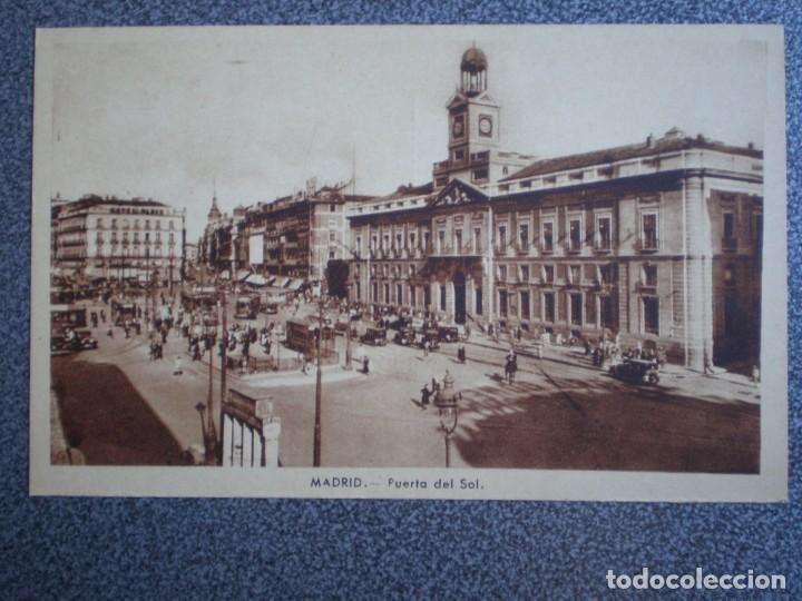 Postales: MADRID LOTE DE 11 POSTALES ANTIGUAS DIFERENTES - VER TODAS EN LAS IMÁGENES - Foto 11 - 183625338