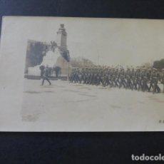 Postales: MADRID DESFILE MILITAR CADETES ACADEMIA DE ARTILLERIA DE SEGOVIA DESFILANDO T. UNTURBE FOTOGRAFO . Lote 183690296