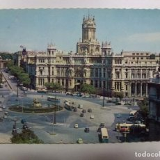 Cartes Postales: POSTAL. 28. MADRID. PLAZA DE LA CIBELES Y PALACIO DE COMUNICACIONES. ED. GARCÍA GARRABELLA. CIRCULAD. Lote 183811228