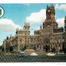 Postales: MADRID PALACIO DE TELECOMUNCIACIONES PLAZA DE LA CIBELES - GRAFICAS BERGAS 36 - NO CIRCULADA. Lote 183944416