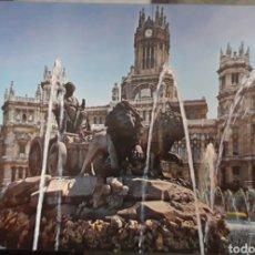 Postales: POSTAL LA CIBELES MADRID. Lote 184116941