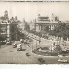 Postales: MADRID CIBELES ESCRITA. Lote 184205413