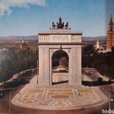 Postales: POSTAL ARCO DE LA VICTORIA MADRID. Lote 185251722