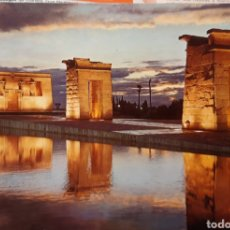 Postales: POSTAL TEMPLO DE DEBOT EN MADRID. Lote 185264711