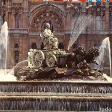 Postales: POSTAL LA CIBELES MADRID. Lote 185290740