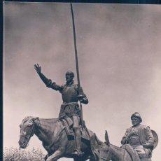 Postales: POSTAL MADRID - DON QUIJOTE Y SANCHO PANZA - ZERKOWITZ 134 - ESCRITA. Lote 185687721