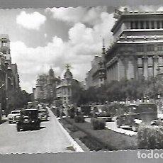 Postales: POSTAL. MADRID. CALLE DE ALCALA. VISTA PARCIAL. 7. GARCIA GARRABELLA. SELLO RAMON Y CAJAL. Lote 185689920