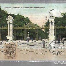 Cartoline: TARJETA POSTAL. MADRID. PASEO DE RECOLETOS. 310. TG. Lote 185877093