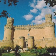 Cartes Postales: MADRID, CASTILLO DE MANZANARES EL REAL (S.XV) FACHADA PRINCIPAL – S/C. Lote 185899608