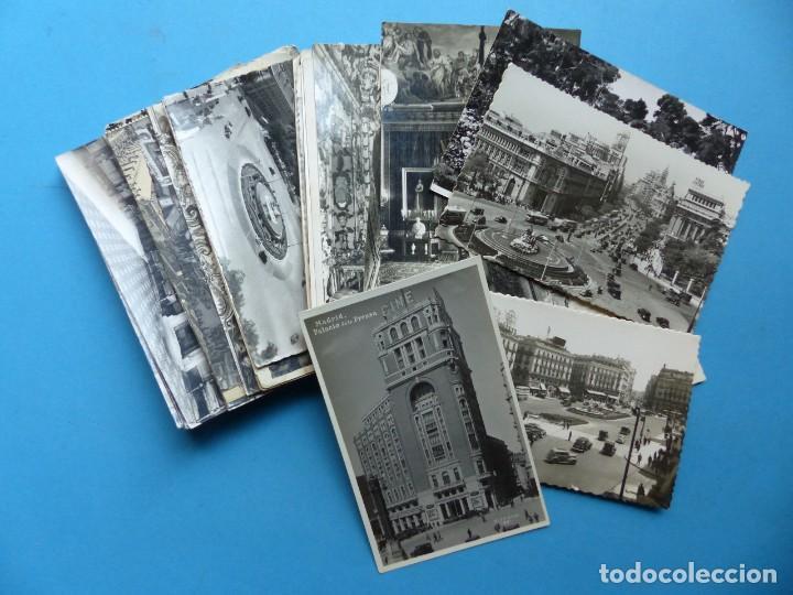 MADRID Y PROVINCIA - 45 ANTIGUAS POSTALES DIFERENTES - VER FOTOS ADICIONALES (Postales - España - Comunidad de Madrid Antigua (hasta 1939))