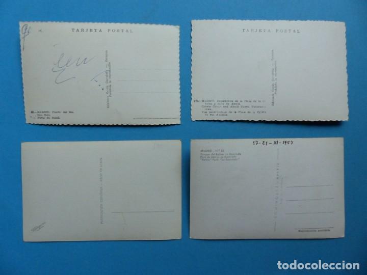 Postales: MADRID Y PROVINCIA - 45 ANTIGUAS POSTALES DIFERENTES - VER FOTOS ADICIONALES - Foto 3 - 186324776