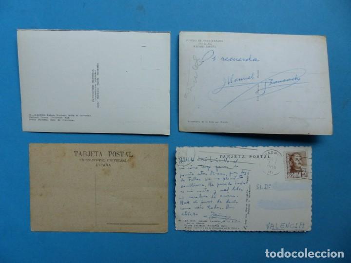 Postales: MADRID Y PROVINCIA - 45 ANTIGUAS POSTALES DIFERENTES - VER FOTOS ADICIONALES - Foto 7 - 186324776