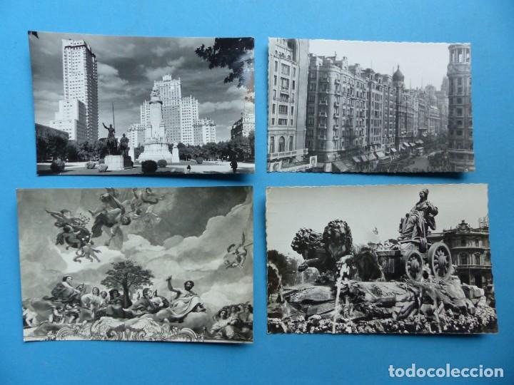 Postales: MADRID Y PROVINCIA - 45 ANTIGUAS POSTALES DIFERENTES - VER FOTOS ADICIONALES - Foto 12 - 186324776