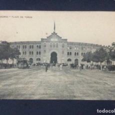 Postales: MADRID - PLAZA DE TOROS - 37 - SELLO FECHADO 1911. Lote 186679585