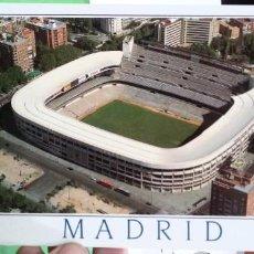 Postales: POSTAL MADRD ESTADIO DE FUTBOL SANTIAGO BERNABEU MDR 102 MUNDIGRAFIS. Lote 187307458