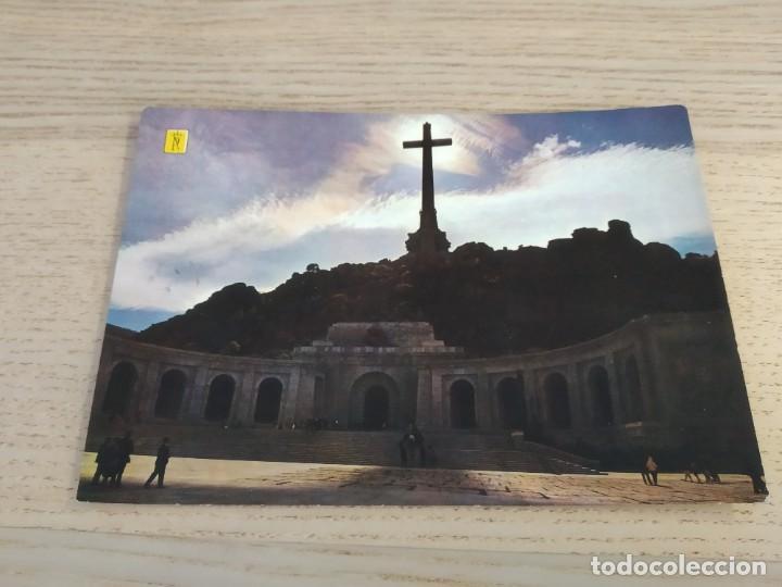 POSTAL DEL VALLE DE LOS CAIDOS. 36. FACHADA CONTRALUZ. CIRCULADA (Postales - España - Madrid Moderna (desde 1940))