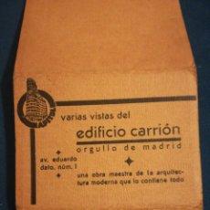 Postales: EDIFICIO CARRION CAPITOL 10 POSTALES EN ACORDEON. Lote 189381168