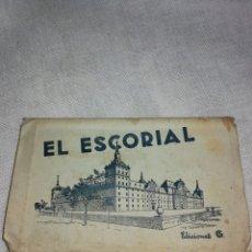 Postales: CARPETA DE POSTALES EL ESCORIAL. Lote 189540338